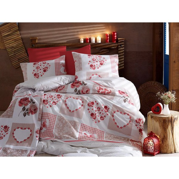 Бутиково спално бельо Rosey фин памук