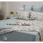 Спално бельо с лятна олекотена завивка ДЕСИСЛАВА зелено