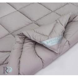 Олекотена завивка фин 100% памук сиво