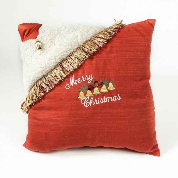 Декоративна възглавница Честита Коледа