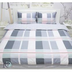 Авторитетно спално бельо памучен сатен Elene
