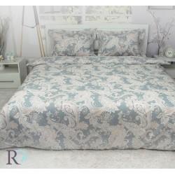 Бутиково спално бельо от памучен сатен Temira