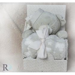 Бебешко одеяло Bori с подарък Мече