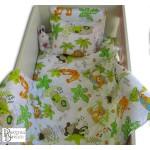 Бебешко спално бельо AFRICA 100% памук