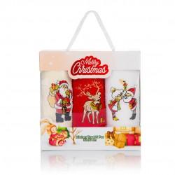 Коледни кърпи в пакет 3бр. Празник